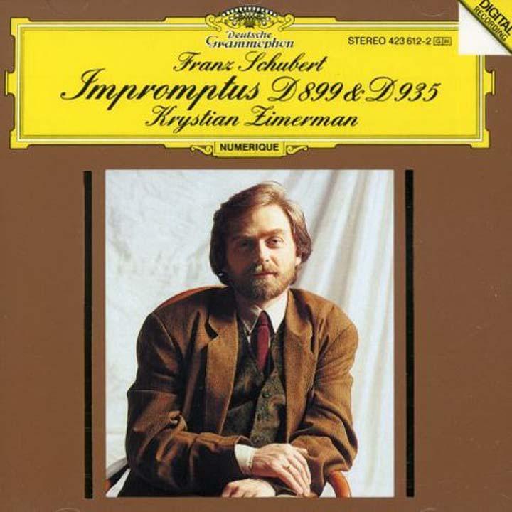 Krystian Zimerman. Schubert: Impromptus D899 & D935 wilhelm kempff schubert impromptus d 899
