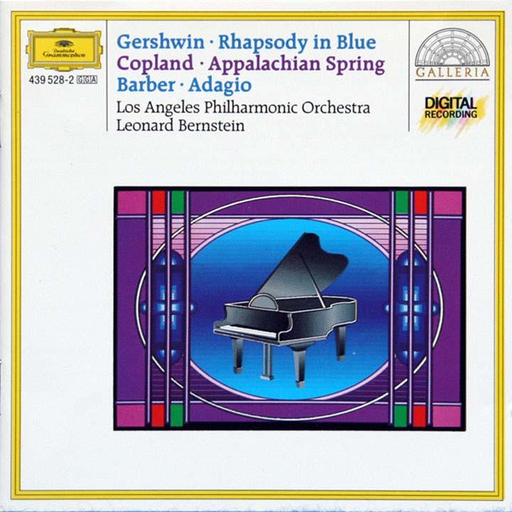 Leonard Bernstein. Gershwin: Rhapsody In Blue/ Copland: Appalachian diana copland david renewed