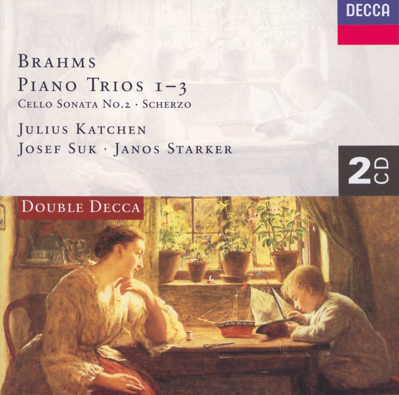 лучшая цена Starker, Katchen, Suk. Brahms: Piano Trio Nos.1 - 3