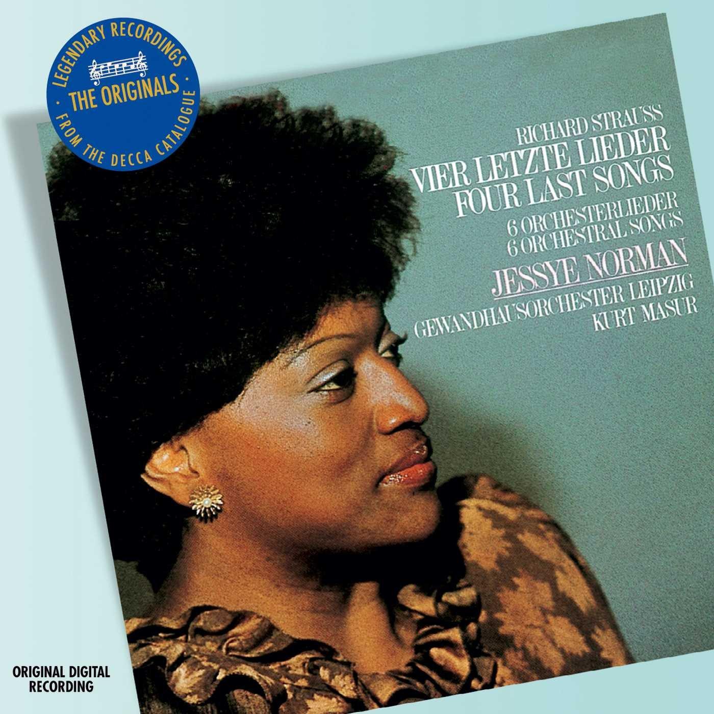 лучшая цена Jessye Norman. R. Strauss: Vier Letzte Lieder & Lieder