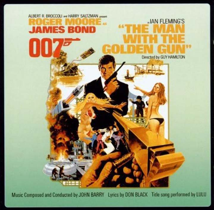 цены на John Barry. OST The Man With The Golden Gun. Original Motion Picture Soundrack  в интернет-магазинах
