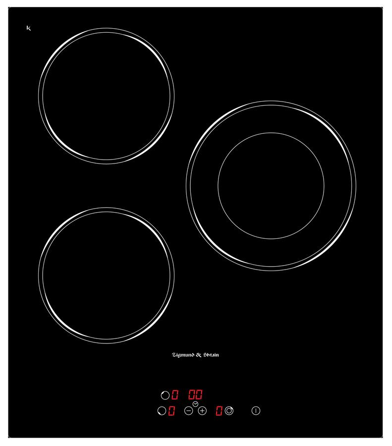 Варочная панель CNS 302.45 BX, черный