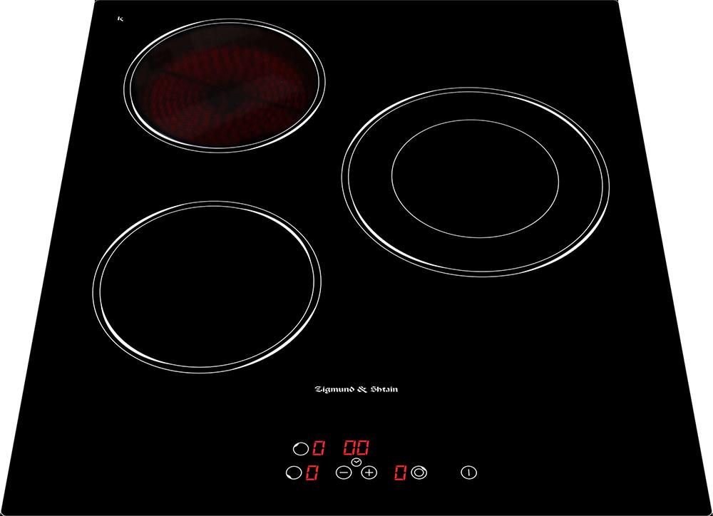 Варочная панель  CNS 302. 45 BX, черный • Фронтальное сенсорное управление • 1 зона нагрева расширением...