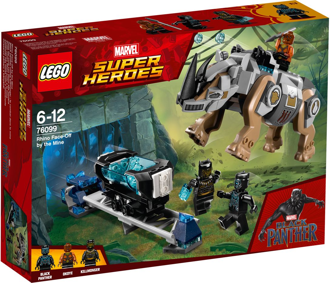 Пластиковый конструктор LEGO 76099