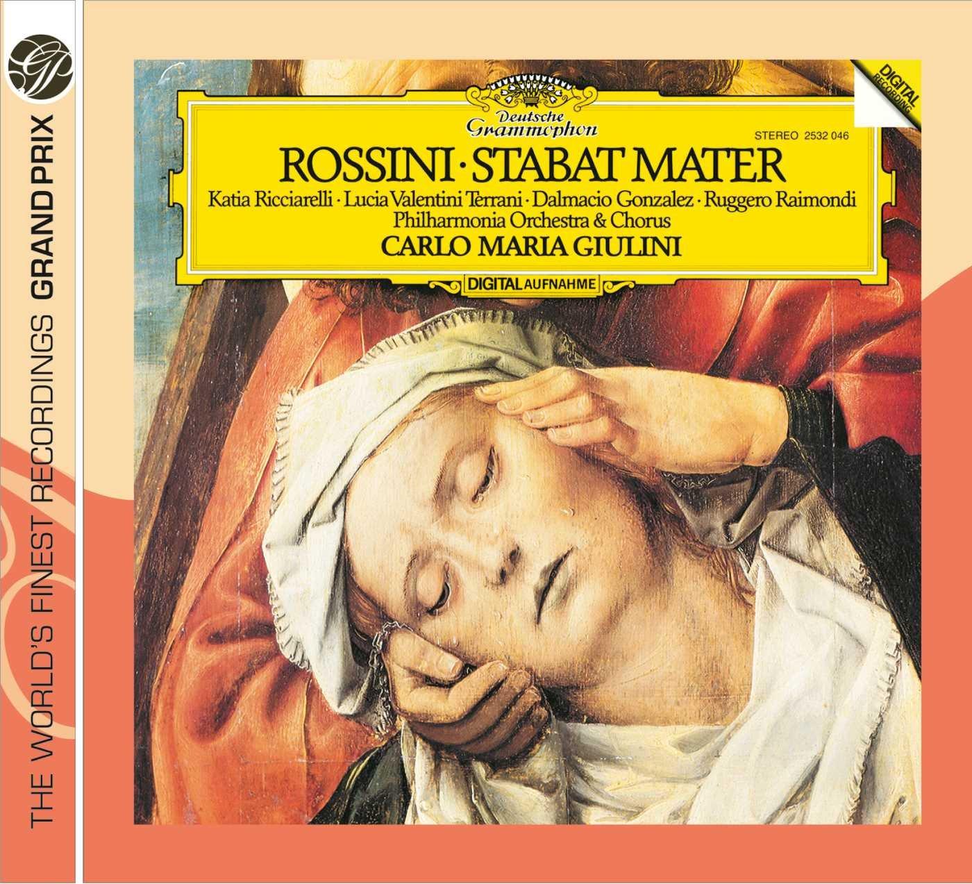 Carlo Maria Giulini. Rossini: Stabat Mater j kocięda stabat mater