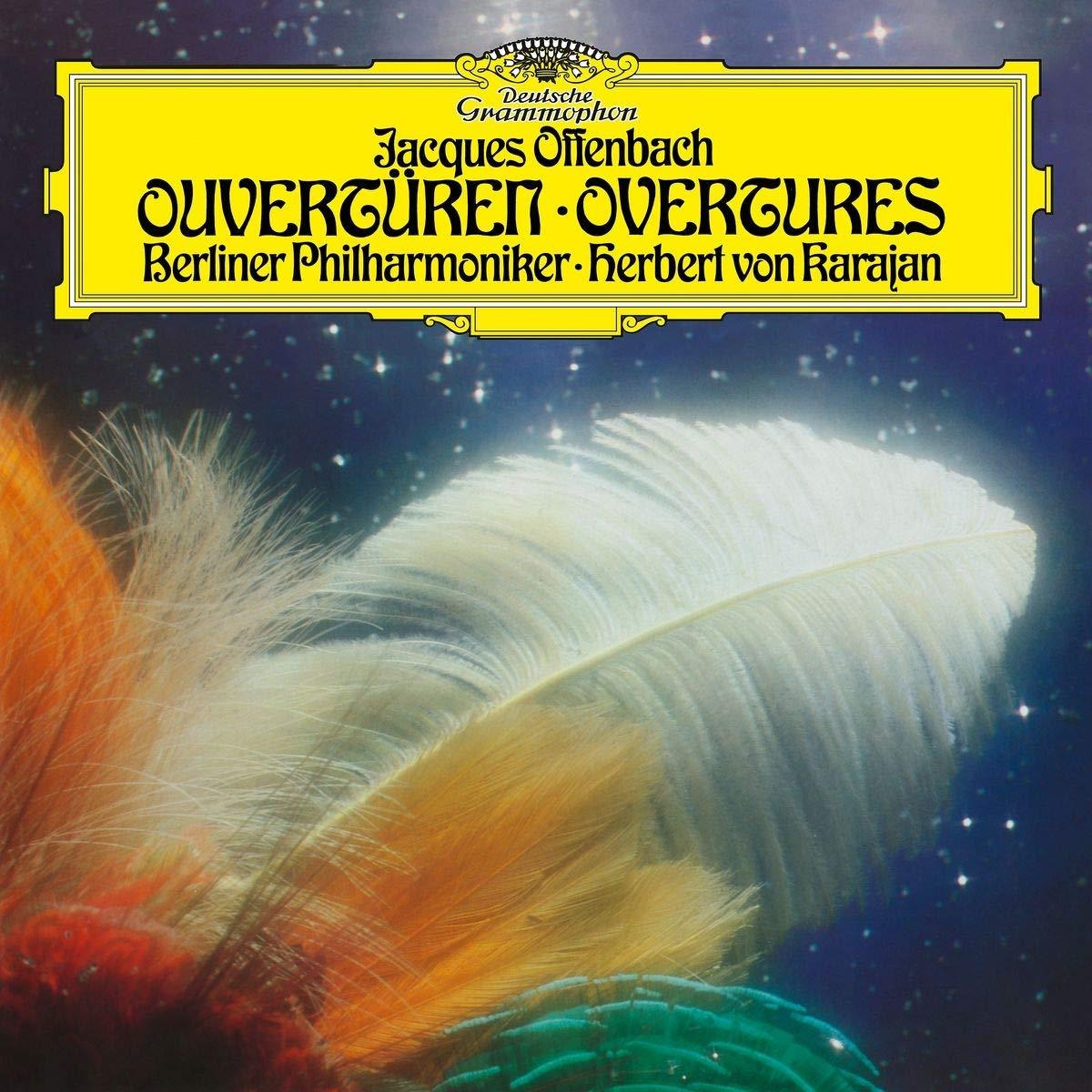 Herbert von Karajan. Offenbach: Overtures (LP) цена и фото