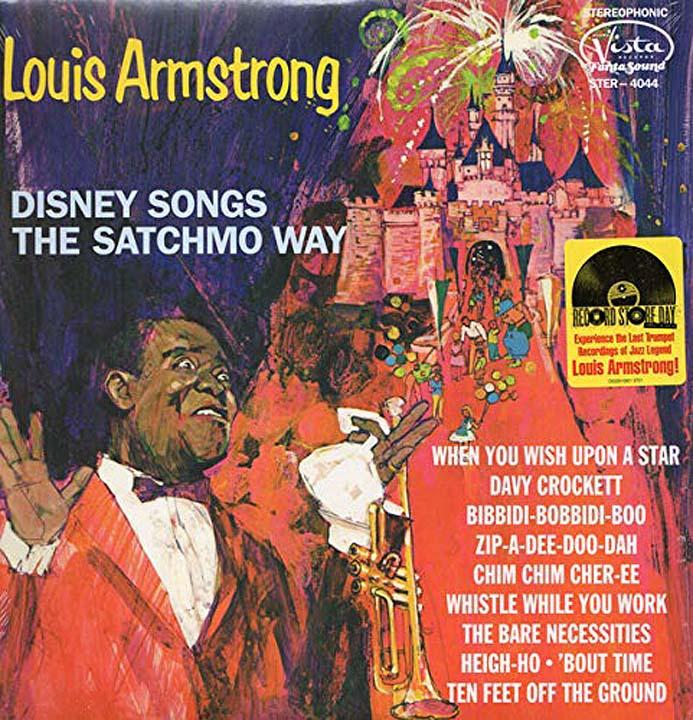 Луи Армстронг,`Pinocchio`,`The Jungle Book` Louis Armstrong. Disney Songs The Satchmo Way (LP) a m trovato satchmo