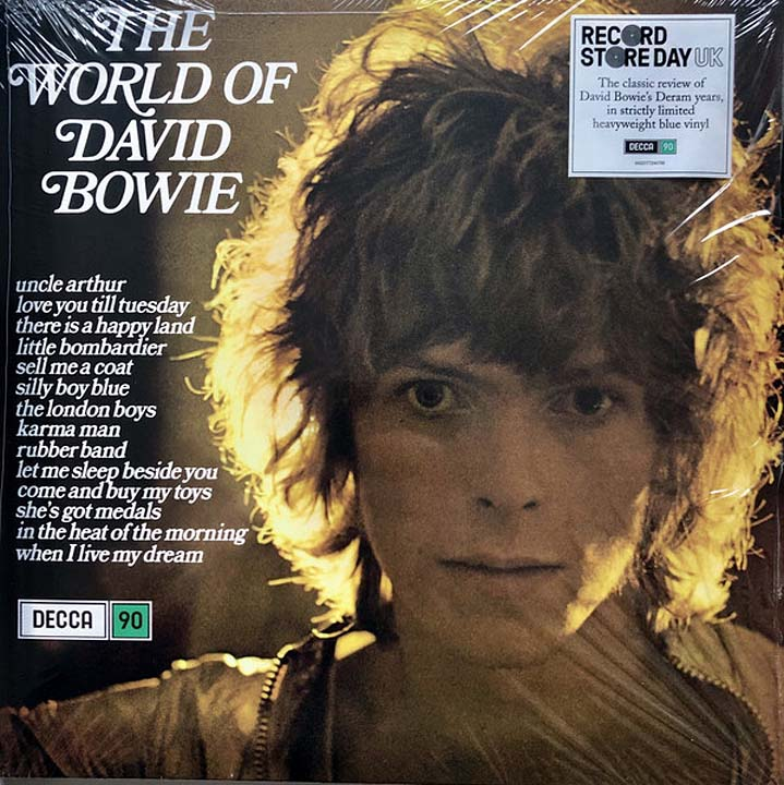 цена на David Bowie. The World Of David Bowie (LP)
