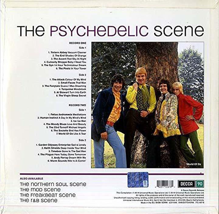цена на Various Artists. The Psychedelic Scene (LP)