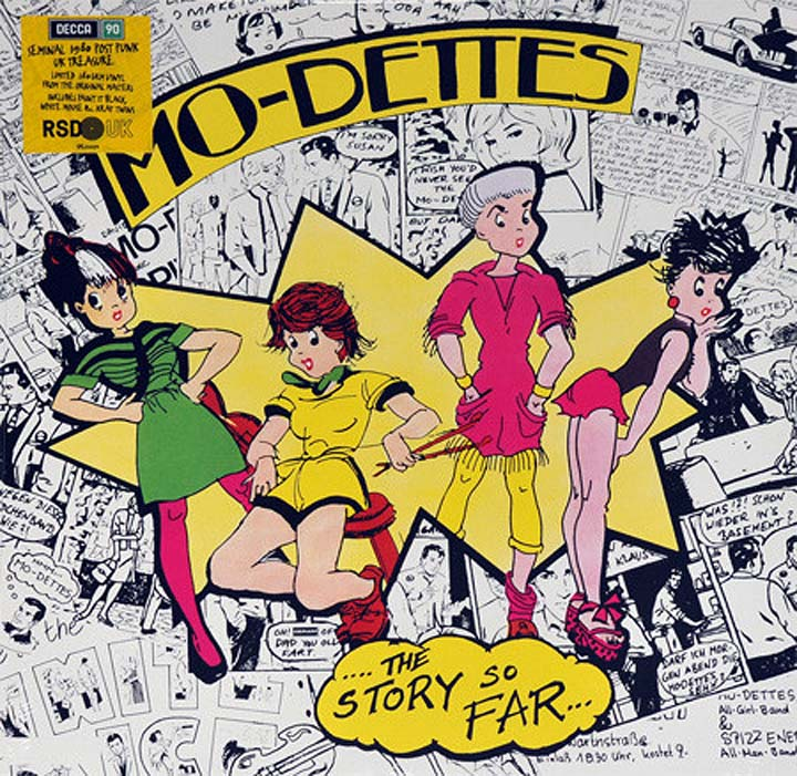 Mo-dettes. The Story So Far (LP) supertramp the story so far
