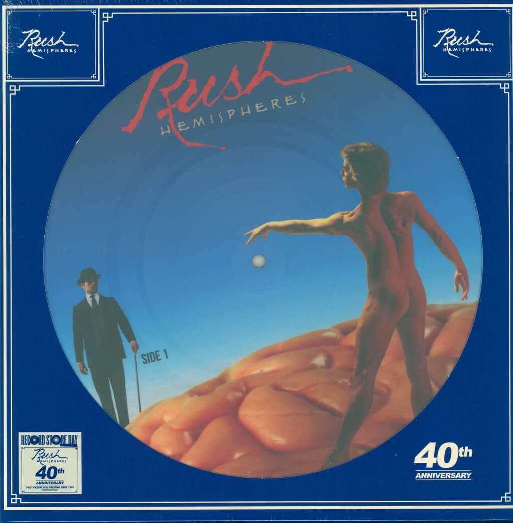 Rush Rush. Hemispheres (picture) (LP) rush rush power windows lp