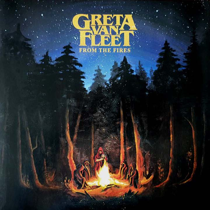 Greta Van Fleet Greta Van Fleet. From The Fires (LP)