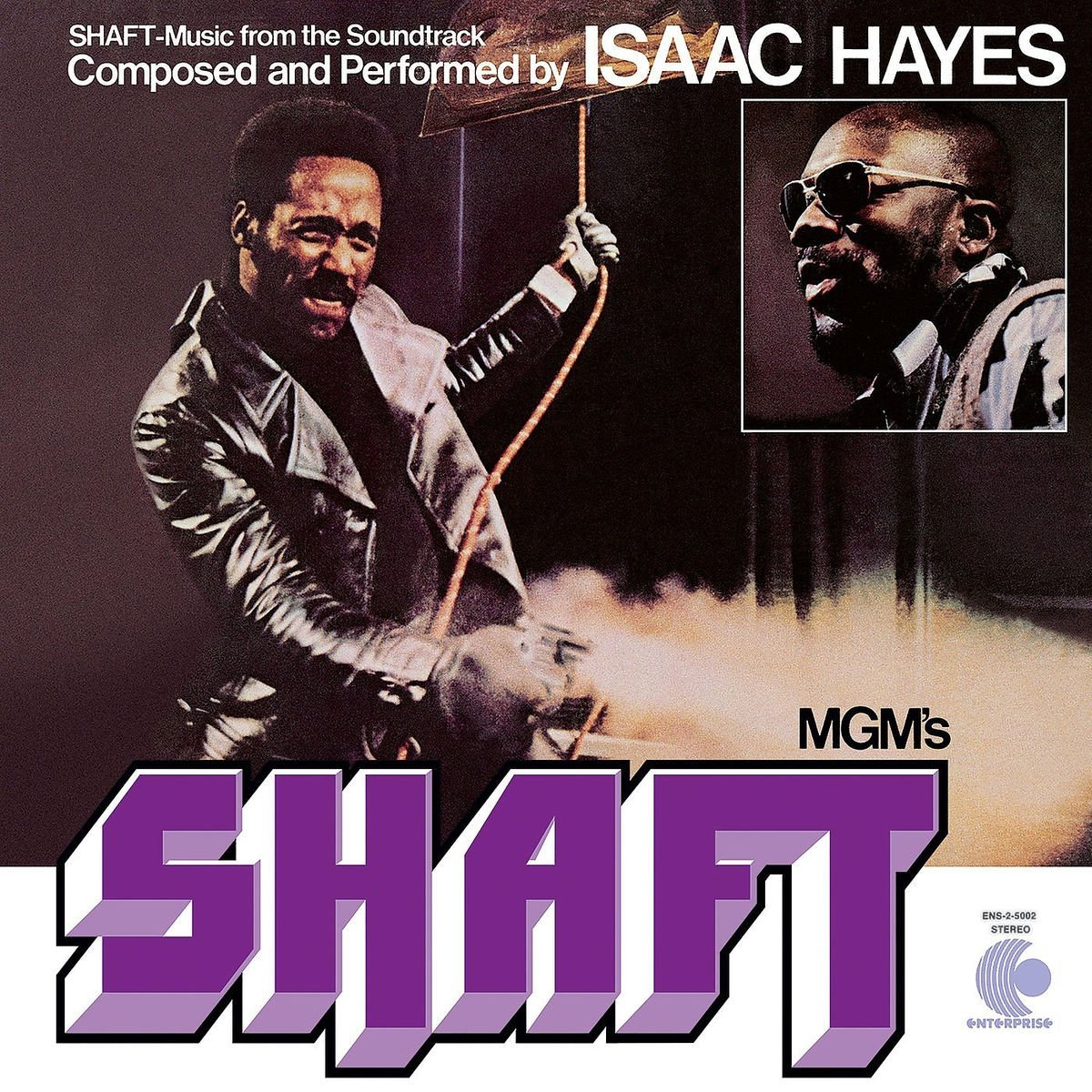 Isaac Hayes. Shaft (LP)