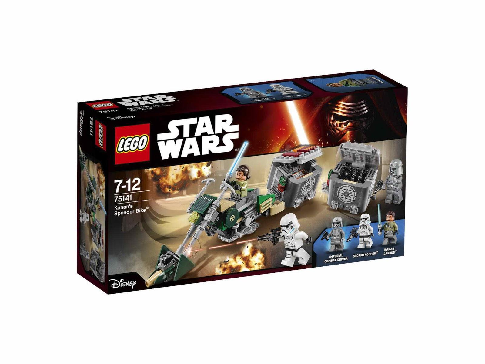 Пластиковый конструктор LEGO 75141