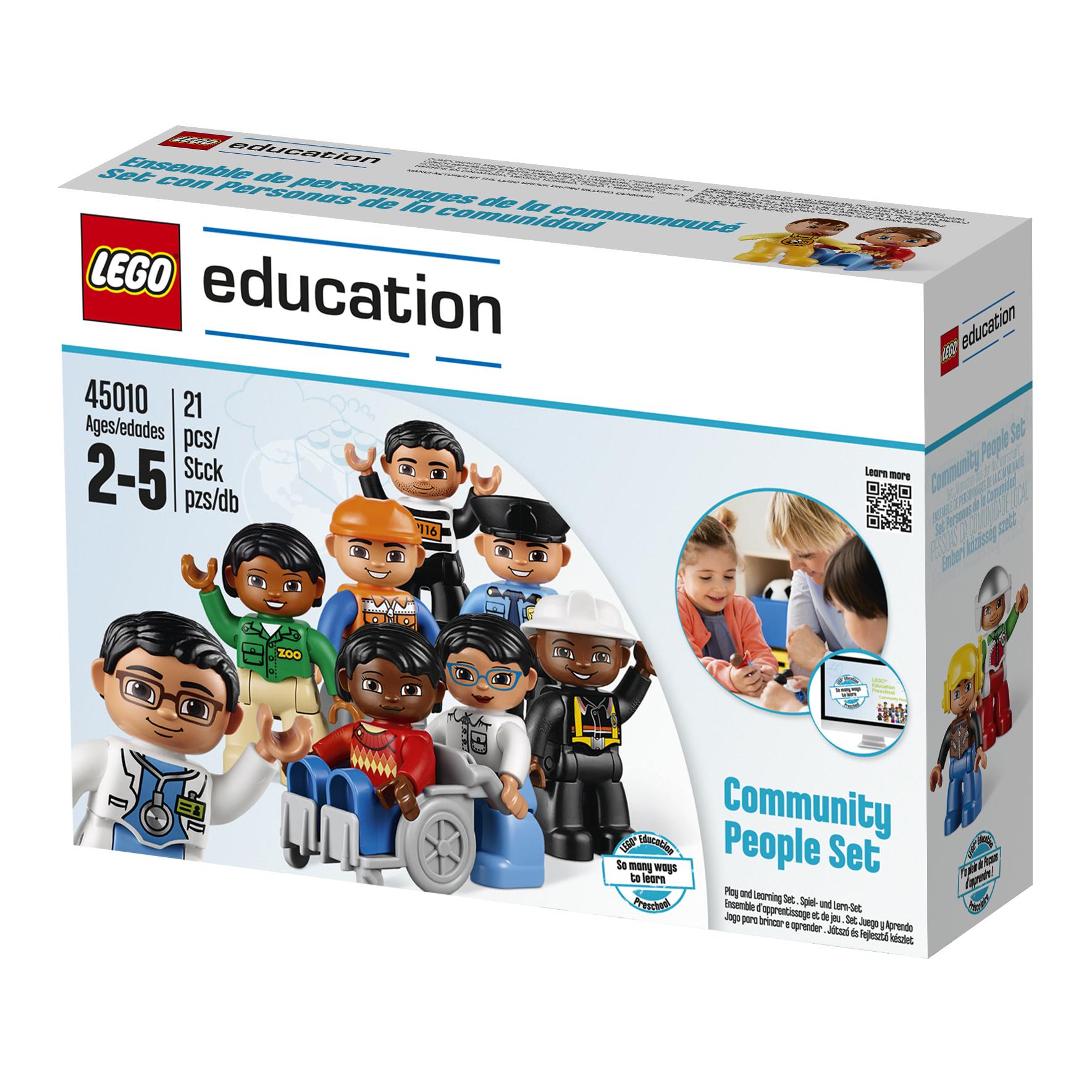 Пластиковый конструктор LEGO 45011 lego education preschool 45011 люди мира duplo