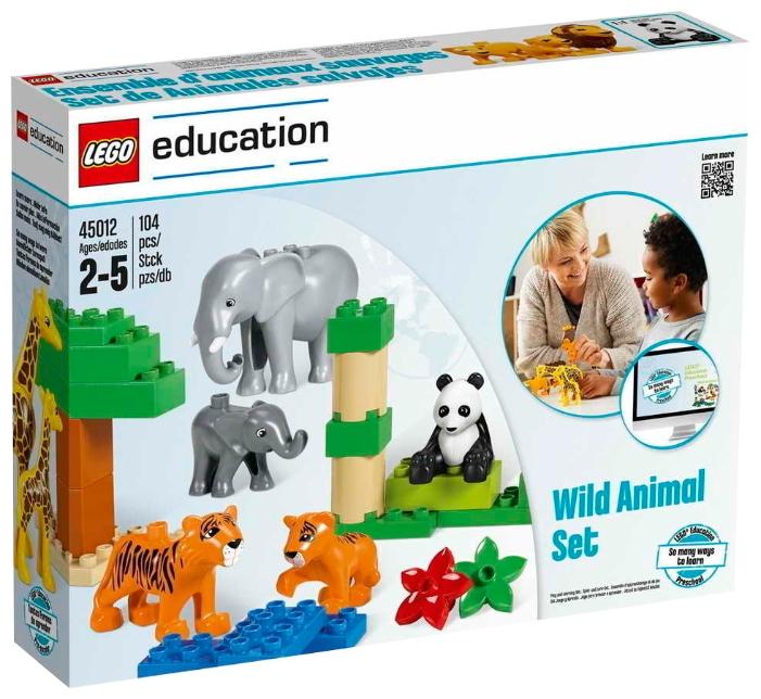 Пластиковый конструктор LEGO 45012