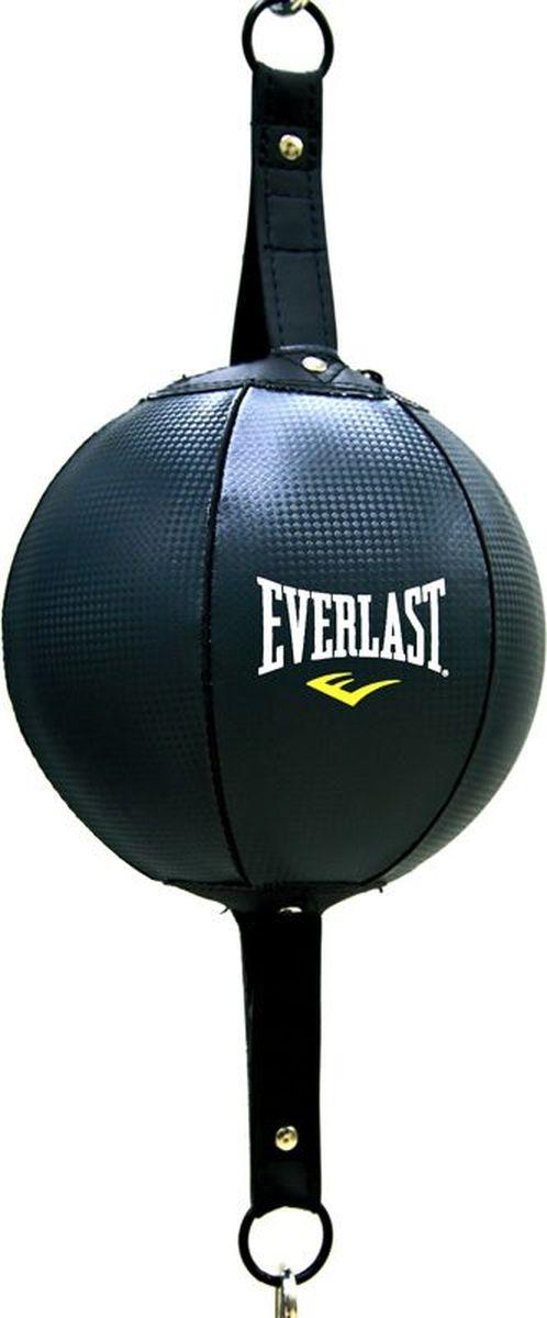 Боксерская груша Everlast PU Double End 20, на растяжках, 4223U, серый боксерская груша уфси на растяжке цвет в ассортименте диаметр 22 см