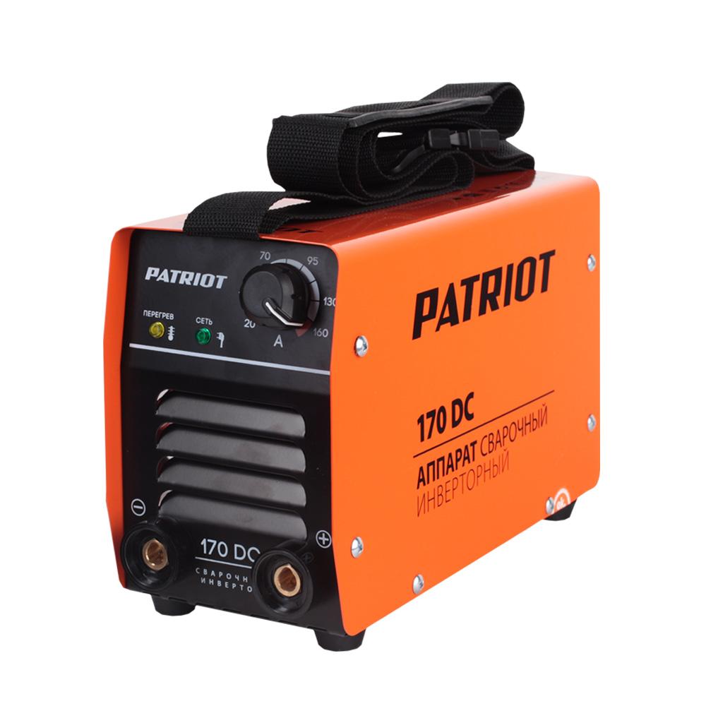 Сварочный аппарат PATRIOT 170DC MMA инверторный сварочный аппарат patriot 170dc mma