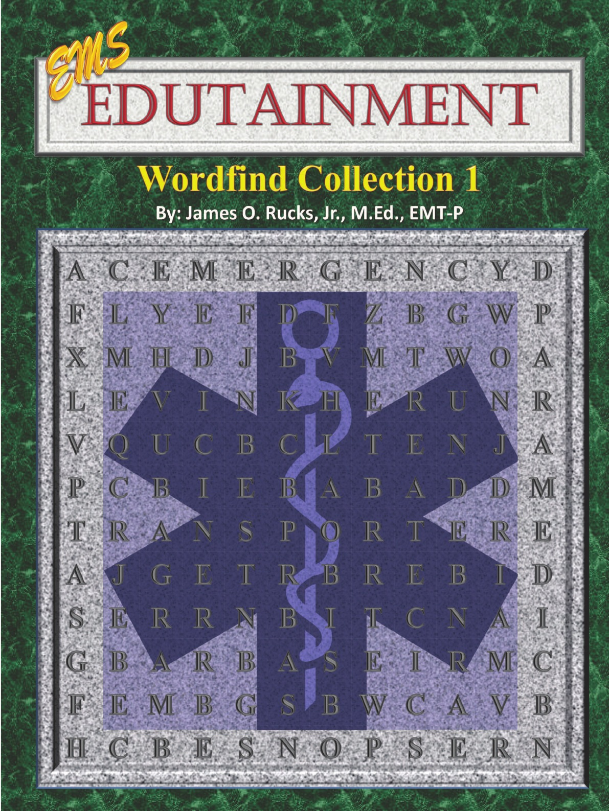 James Rucks EMS Edutainment Wordfinds. Collection 1 other ems dhl