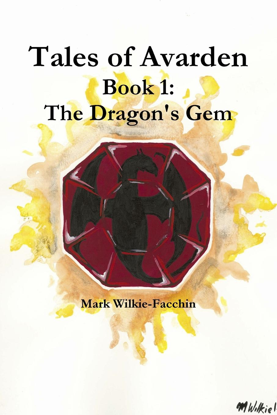 Mark Wilkie-Facchin Tales of Avarden Book 1. The Dragon.s Gem pair of women s gem set dragonfly earrings