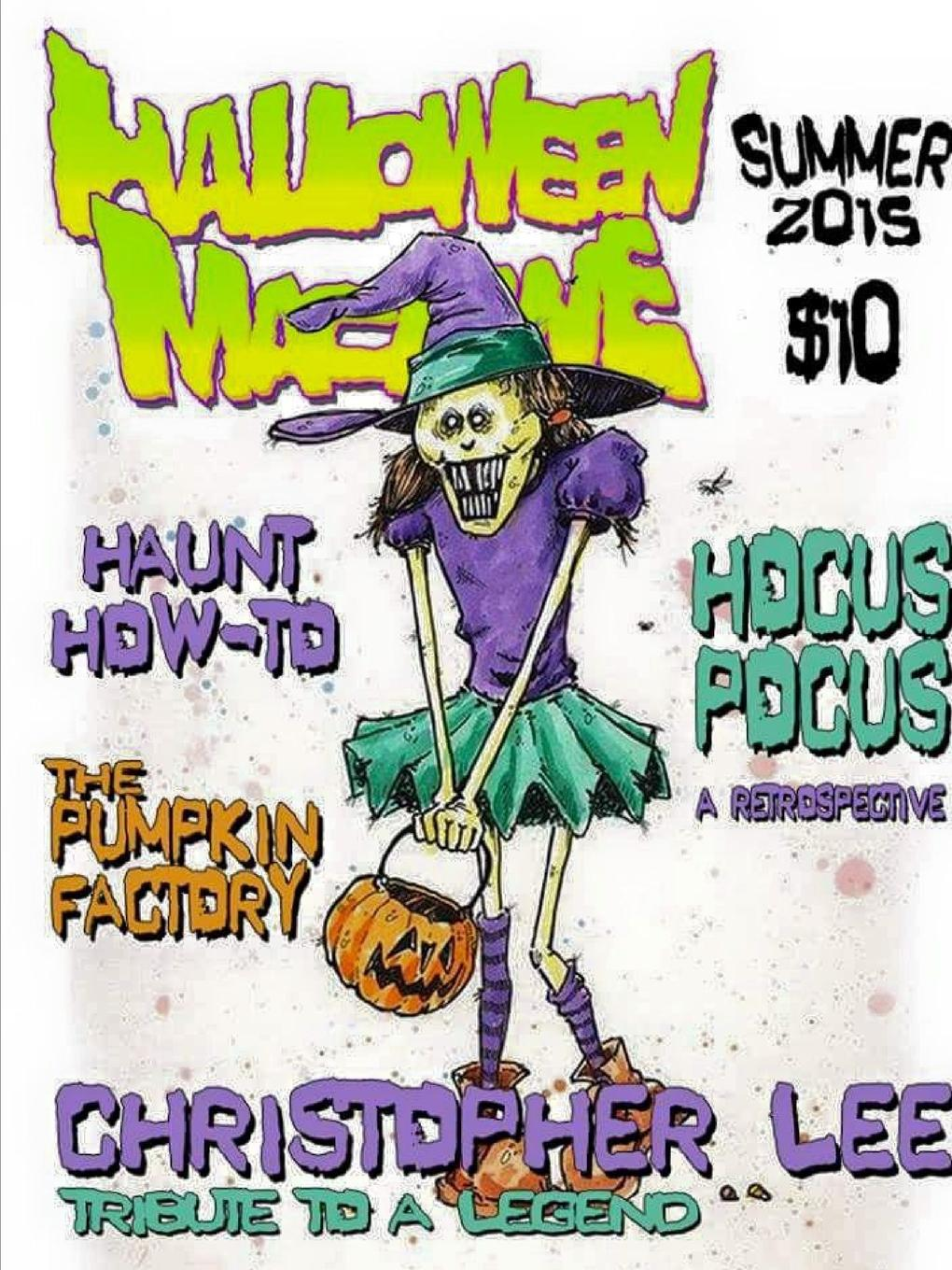 Hallow Harvest Halloween Machine Summer 2015