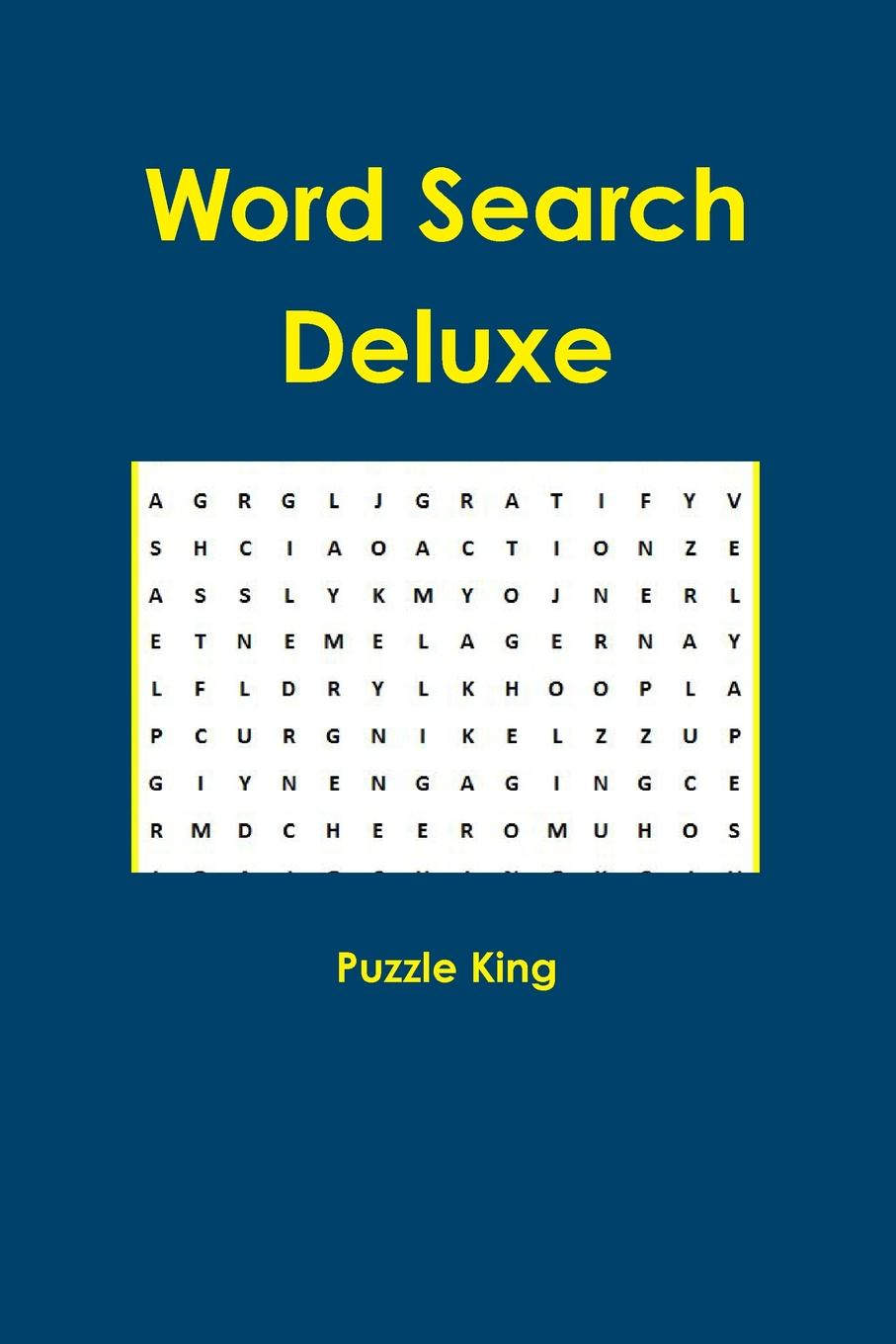 Puzzle King Word Search Deluxe isolated word recognition