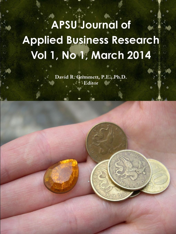 David Grimmett APSU JABR Vol 1, No 1, March 2014 недорго, оригинальная цена