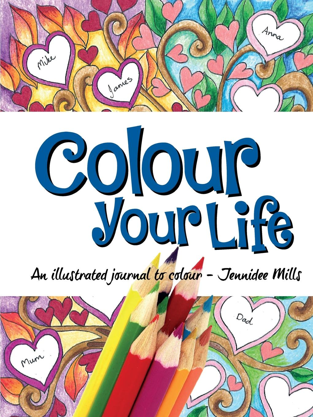 Jennidee Mills Colour Your Life jens brakenhoff life as we know it