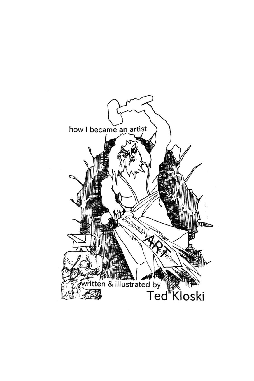 Ted Kloski how I became an artist musashi graphic novel