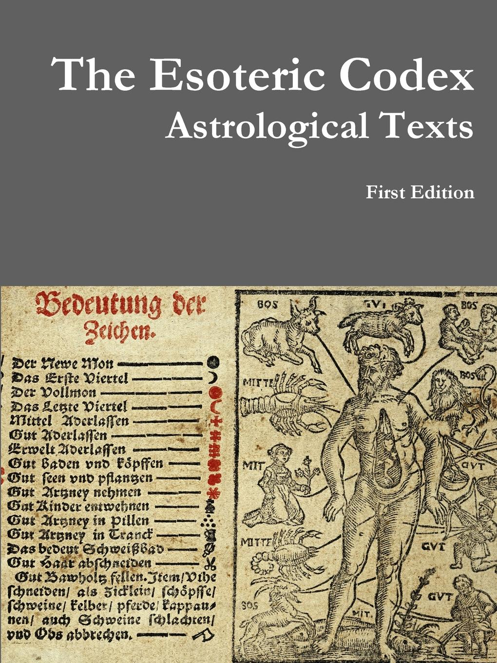 Clayton Arthur The Esoteric Codex. Astrological Texts esoteric ffxiv