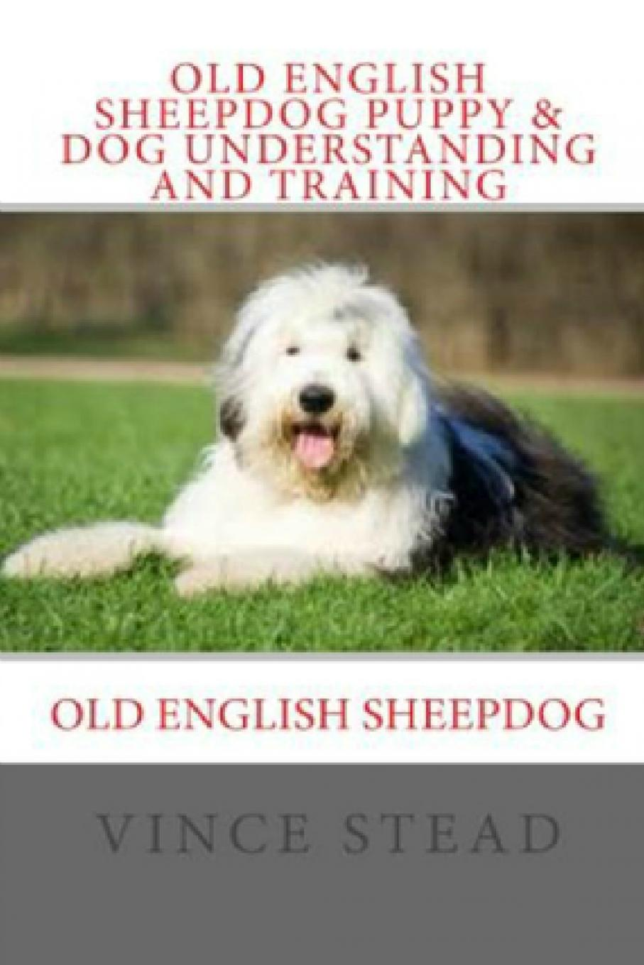 Vince Stead Old English Sheepdog Puppy . Dog Understanding and Training mitchell bruce a guide to old english