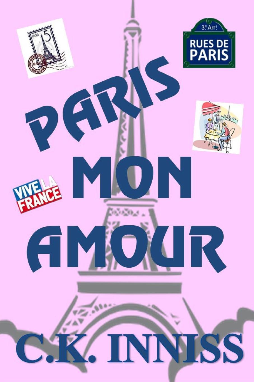 Cynthia Inniss Paris Mon Amour flower paris eiffel tower printed unframed canvas paintings