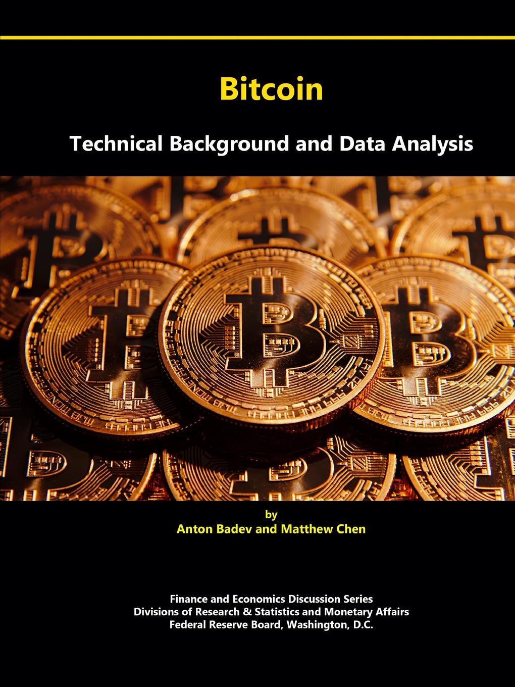 Bitcoin. Technical Background and Data Analysis Broadly speaking, Bitcoin is a scheme designed facilitate...