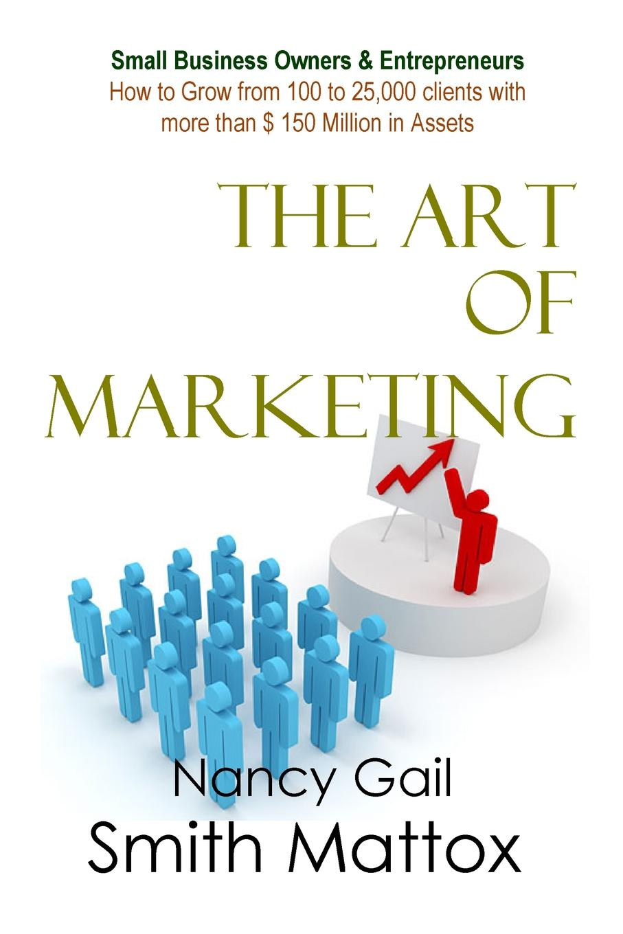 Nancy Gail Smith Mattox The Art of Marketing dee blick the ultimate small business marketing book