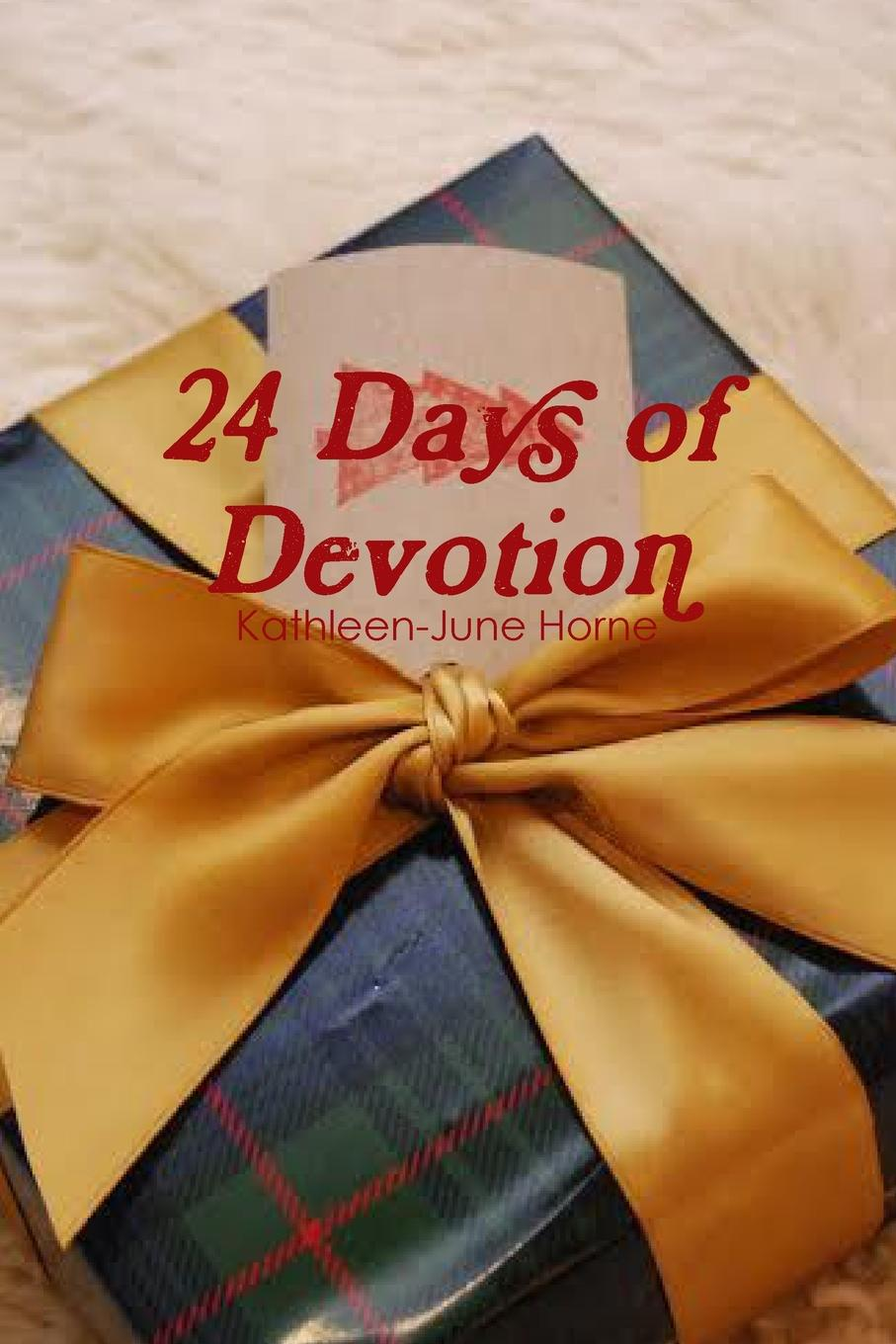 Kathleen-June Horne 24 Days of Devotion a perfect day