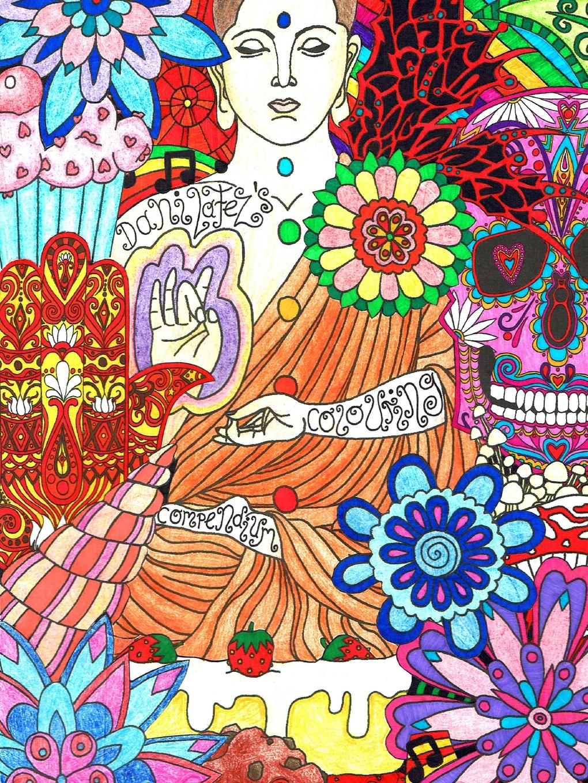 Danielle Peppiatt Dani LaFezs Colouring Compendium dani collins an heir to bind them