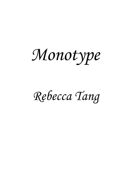 Rebecca Tang Monotype john quarnstrom miko tang the art of mid