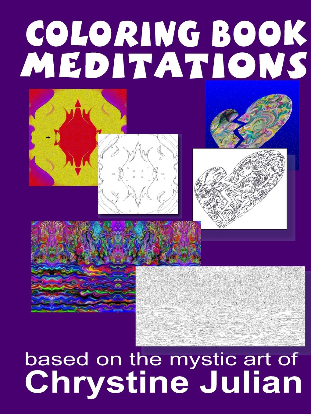 Фото - Chrystine Julian Coloring Book Meditations agent based snort in distributed environment