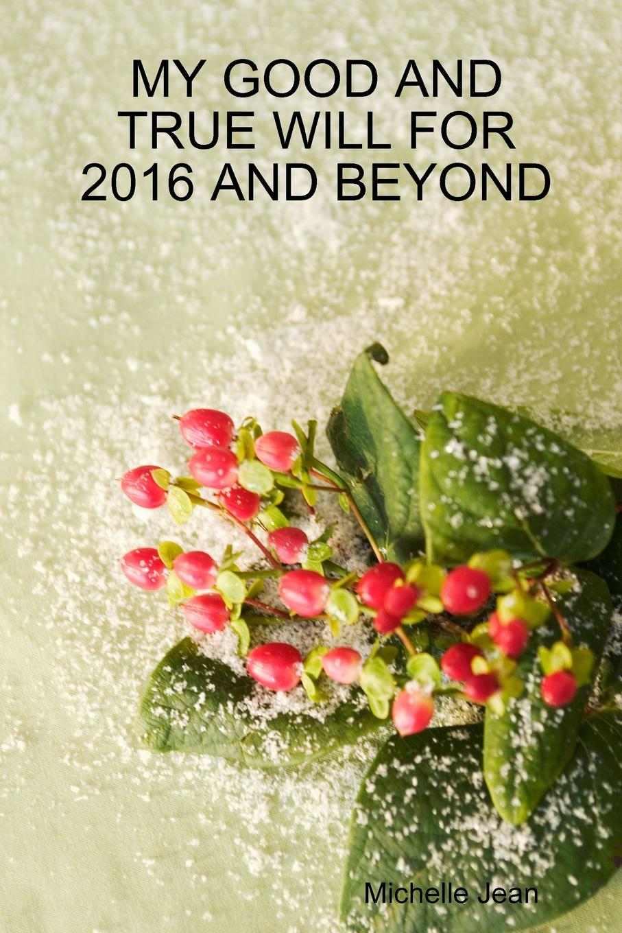 Michelle Jean MY GOOD AND TRUE WILL FOR 2016 AND BEYOND michelle jean my first trip of 2015