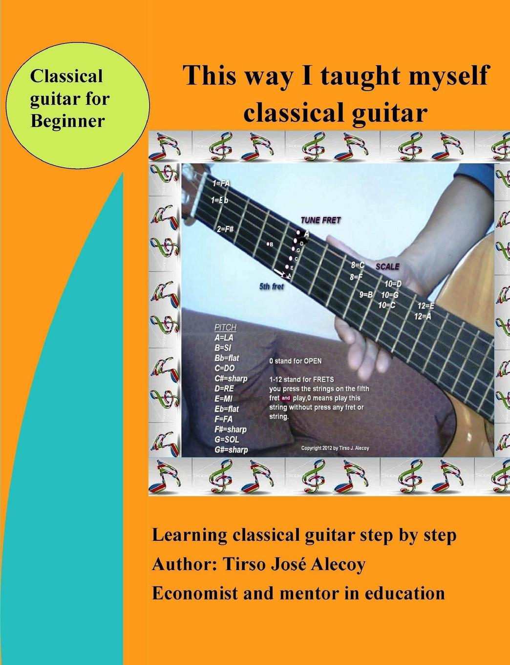 Tirso Jose Alecoy This way I taught myself classical guitar 10 pcs bone slotted bridge nut up saddle for classical guitar 52mmx6mmx9 8 5mm