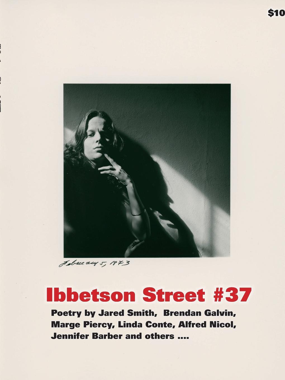Doug Holder Ibbetson Street .37 doug holder ibbetson street 37