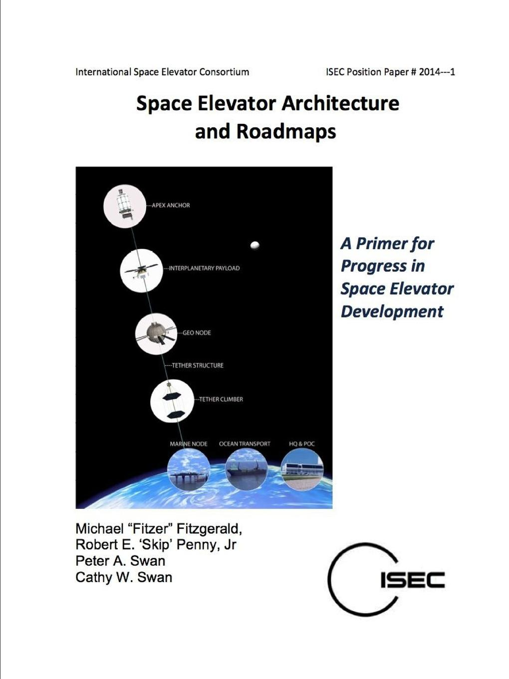 Michael FItzer Fitzgerald Space Elevator Architecture and Roadmaps james eckler f language of space and form generative terms for architecture