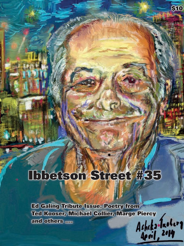 Doug Holder Ibbetson Street .35 doug holder ibbetson street 37