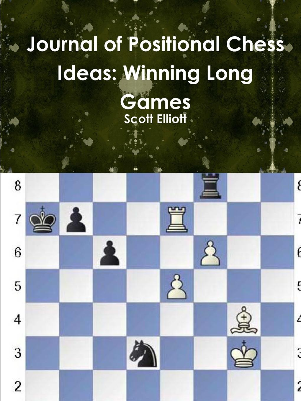 Scott Elliott Journal of Positional Chess Ideas. Winning Long Games game controller gamepad and trigger shooter aim key gaming assist tools kit