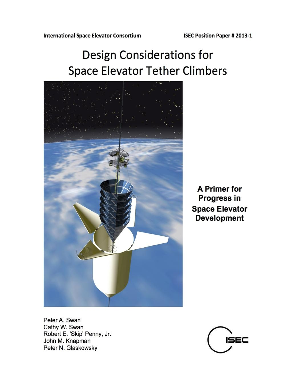 Design Considerations for Space Elevator Tether Climbers