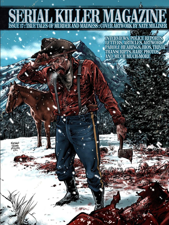 James Gilks Issue 17 of Serial Killer Magazine