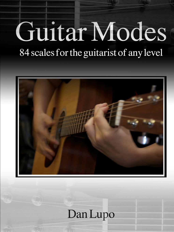 Dan Lupo Guitar Modes tobacco sunburst electric guitar with scalloped neck reverse headstock white pickguard