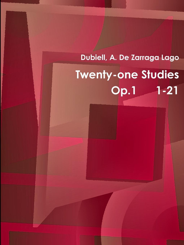 de Zarraga Lago Dubiell a, Dubiell A. De Zarraga Lago, De Zarraga Lago Dubiell a. Twentyone Studies Op.1 1-21 sland lago lounge curver 1487653