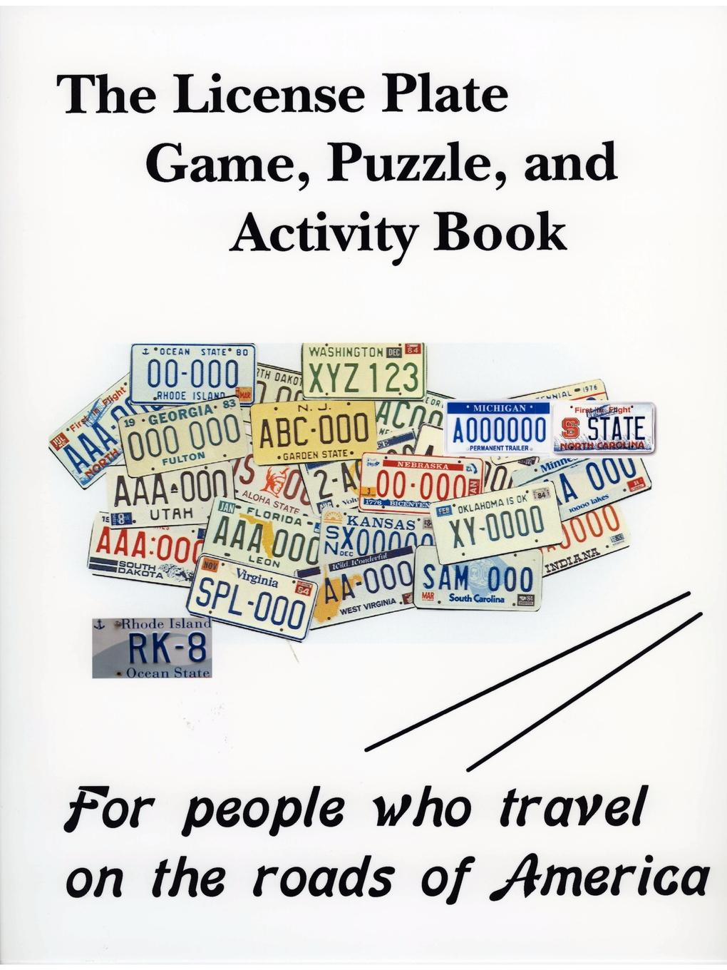 Richard Kirchmeyer The License Plate Game, Puzzle . Activity Book