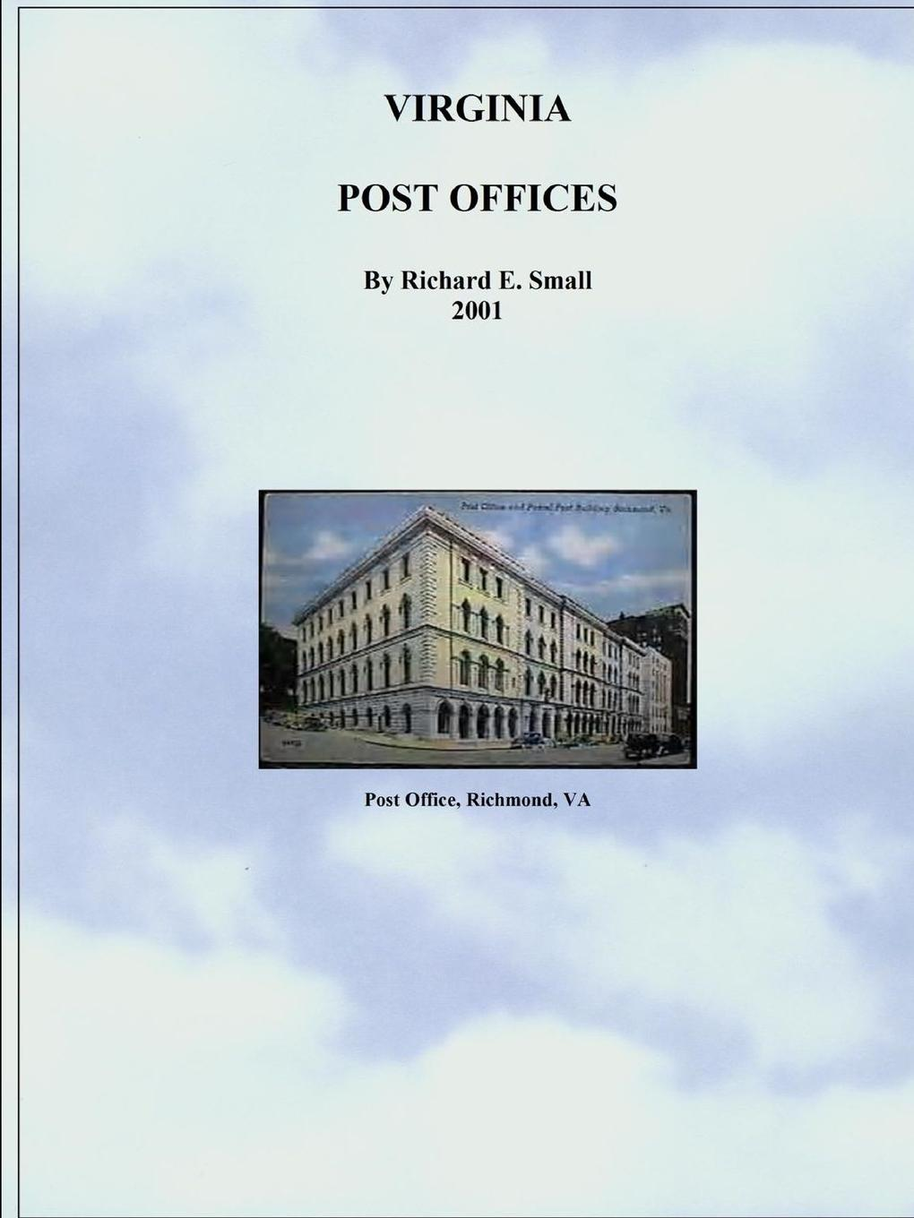 Richard Small Post Offices of Virginia to 2001 canizares a g offices designsource
